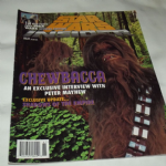 Star Wars Insider Magazine issue 28 chewbacca shadows of the empire update